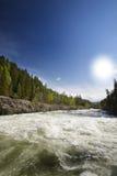 быстрое река Стоковая Фотография