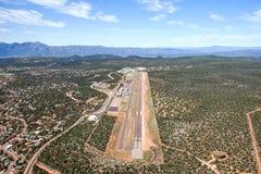 机场在佩森,亚利桑那 库存图片