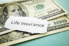 Страхование жизни Стоковая Фотография