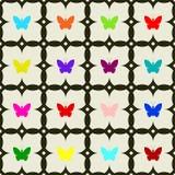 Άνευ ραφής των πεταλούδων Στοκ εικόνες με δικαίωμα ελεύθερης χρήσης