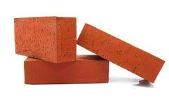красный цвет кирпичей Стоковое Изображение
