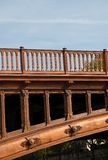 деталь моста зодчества Стоковое Фото