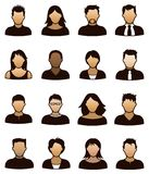 Икона людей Стоковые Фото
