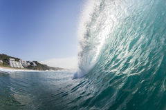 波浪海洋水 库存图片