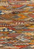 东方地毯背景纹理 免版税库存照片