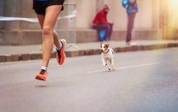 Молодой бегунок Стоковое фото RF