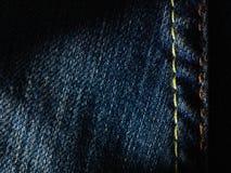 Σύσταση του υποβάθρου τζιν παντελόνι Στοκ εικόνες με δικαίωμα ελεύθερης χρήσης