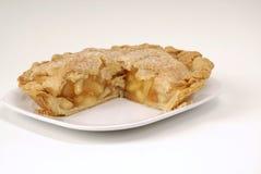 πίτα αποκοπών μήλων Στοκ φωτογραφία με δικαίωμα ελεύθερης χρήσης