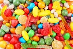 五颜六色的糖果 库存照片