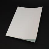 Πρότυπο κενών σελίδων για το σχεδιάγραμμα σχεδίου τρισδιάστατο διάνυσμα Στοκ φωτογραφίες με δικαίωμα ελεύθερης χρήσης