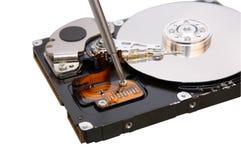 光盘困难维修服务 图库摄影