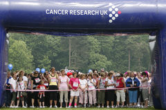 癌症生活种族 免版税库存图片