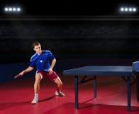 Επιτραπέζιος τενίστας Στοκ Εικόνες