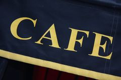 Кафе в Париже Стоковые Изображения