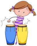 играть барабанчиков Стоковая Фотография