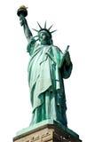 查出的自由雕象 免版税库存图片