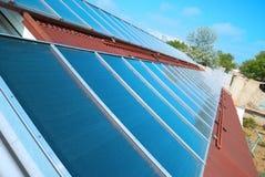 ηλιακό σύστημα στεγών Στοκ φωτογραφία με δικαίωμα ελεύθερης χρήσης