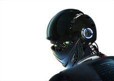 时髦的机器人 免版税库存图片