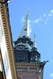 德国教会在斯德哥尔摩 库存照片