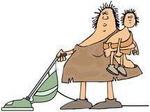 Домохозяйка неандерталца Стоковое Изображение