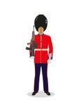 威尔士卫兵 免版税图库摄影