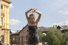 Χορευτές μπαλέτου Στοκ εικόνες με δικαίωμα ελεύθερης χρήσης