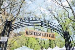 公平海丝特的街 免版税库存图片