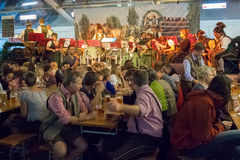 慕尼黑啤酒节萨尔茨堡 奥地利 免版税库存照片