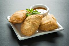 咖喱吹,马来西亚 免版税库存照片
