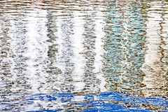 背景的水表面 免版税库存图片