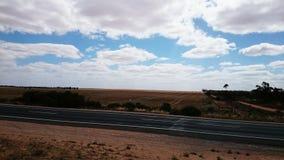 在内地澳大利亚和高速公路 库存图片