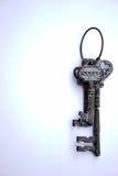 成功-垂直的钥匙 图库摄影