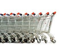 购物车购物 免版税库存图片