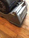 铺沙并且重漆地板 免版税库存照片