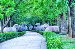 Животные статуи Стоковые Фото