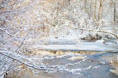 Река зимы Стоковая Фотография RF