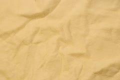 米黄油鞣革 库存照片