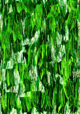 Абстрактная темная ая-зелен предпосылка хода акварели Стоковое Изображение RF