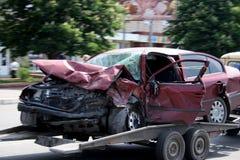 автокатастрофа Стоковое Изображение RF