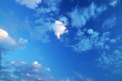 美丽的天空 免版税库存照片