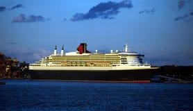 巡航新的船约克 库存照片