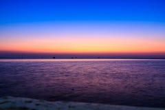 美丽惊人的蓝天 库存照片