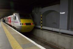 Двигатель поезда восточного побережья девственницы Стоковые Изображения RF