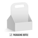 Упаковка для бутылок Стоковое Фото