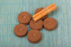 Μπισκότα σοκολάτας Στοκ εικόνα με δικαίωμα ελεύθερης χρήσης