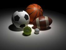 αθλητισμός σφαιρών Στοκ φωτογραφία με δικαίωμα ελεύθερης χρήσης