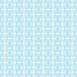 Άνευ ραφής γεωμετρικό τετραγωνικό σχέδιο μπλε και άσπρος Στοκ Εικόνες