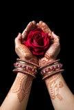 印第安爱 库存照片