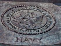 海军的美国部门的封印 库存图片