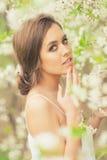 красивейшая весна девушки Стоковое Изображение